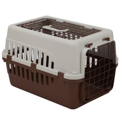 Переноска для животных Petmode Safari Range, 50х35х32 см коричневый