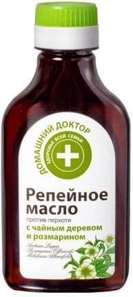 Репейное масло Домашний доктор против перхоти, 100 мл