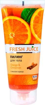 Пилинг для тела Fresh Juice Orange & Cinnamon 200 мл