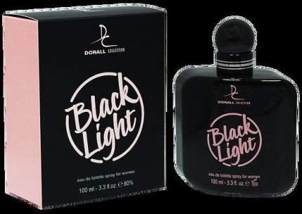 Туалетная вода  Black Light Dorall Collection, 100 мл