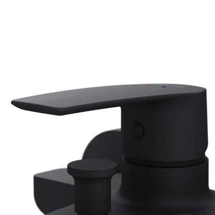 Смеситель для ванны/душа AM.PM Gem излив 179 цвет черный (F90A10022)