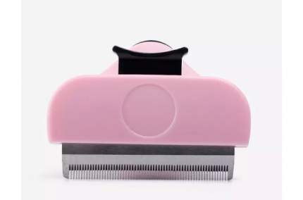 Дешеддер (Дешеддер) самоочищающийся с кнопкой ZDK Petsy (розовый) малый