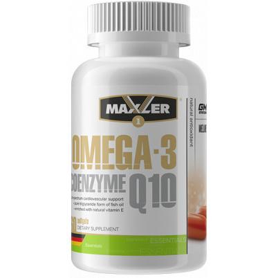 Maxler Omega-3 Coenzyme Q10 60 капсул