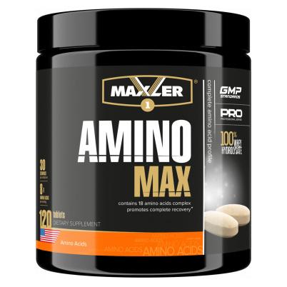 Amino Max Hydrolysate Maxler, 120 таблеток