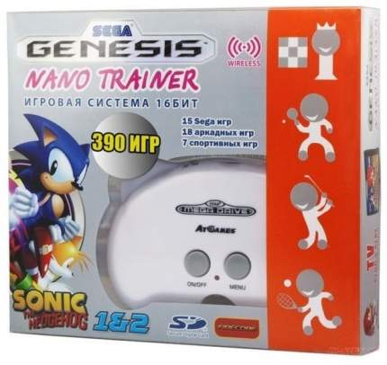 Игровая приставка SEGA Genesis Nano Trainer + 40 игр