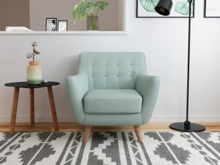 Кресло Bradex Home Picasso бирюзовый /FR 0355