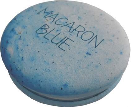 Зеркало карманное Dewal «Макарони», голубое