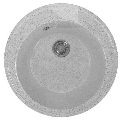 Мойка для кухни мраморная ML-GM Gloss 01 серая