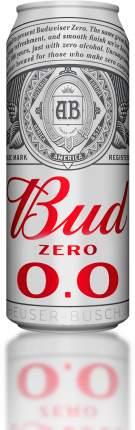 Пивной напиток   Bud  безалкогольный 0.45 л