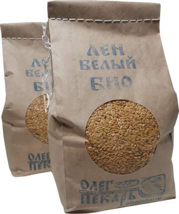 Семена белого льна БИО, 1кг*2шт