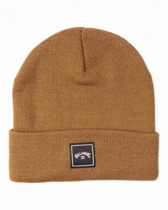 Мужская шапка Stacked, коричневый, U