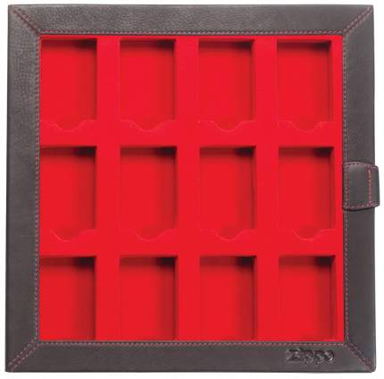Кейс коллекционера для 12 зажигалок ZIPPO 2005422 черный