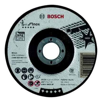 Диск отрезной абразивный BOSCH 180х1.6х22 Best for Inox (2608603499)