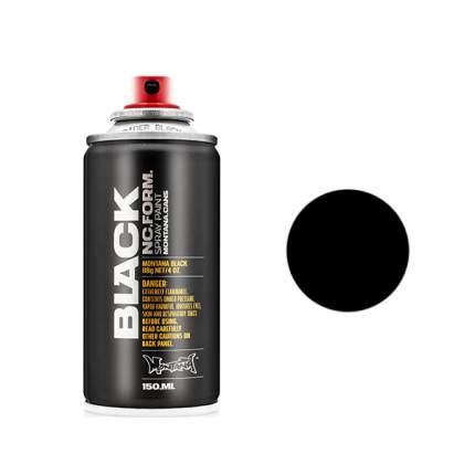 Аэрозольная краска Montana Spider 150 мл черная