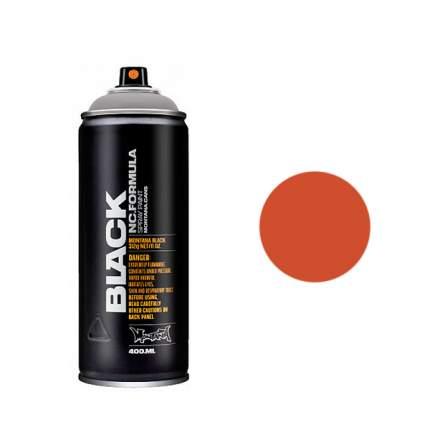 Аэрозольная краска Montana Black Atom megablast 400 мл красная; оранжевый