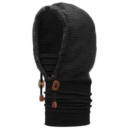 Капюшон Buff Polar Thermal Hoodie Solid, black, One Size