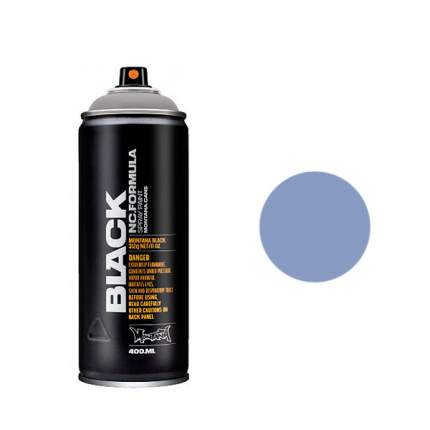 Аэрозольная краска Montana Black Waltraut 400 мл синяя
