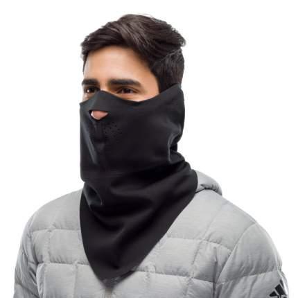 Ветрозащитная маска Buff Windproof Bandana Solid, black, One Size