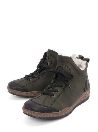 Ботинки женские Rieker L6912 зеленые 36 RU