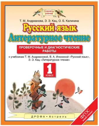 Русский Язык, литературное Чтение, 1 класс проверочные и Диагностические Работы