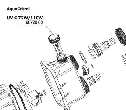 Контроллер мощности потока JBL UV-C 72/110W для УФ-стерилизаторов AquaCristal UV-C 72/110W