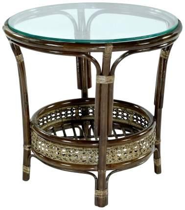 Стол для дачи Экодизайн Пеланги 02/15A brown 64x64x61 см