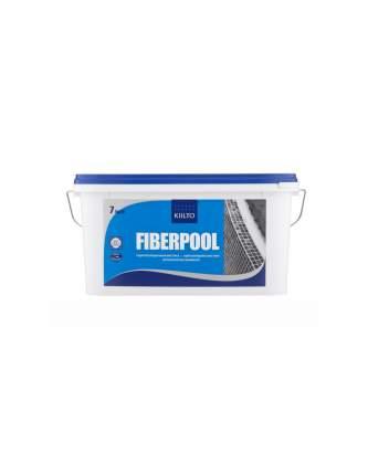 Гидроизоляционная мастика для влажных помещений Kiilto Fiberpool, 7 кг.
