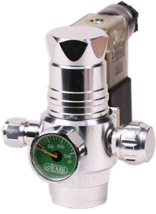 Редуктор CO2 Ista для многоразового баллона, с электромагнитным клапаном