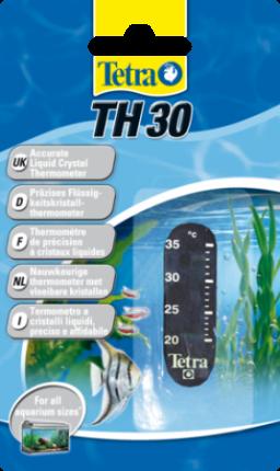 Термометр для аквариума Tetra LCD TH30 от 20 до 30 градусов, на клеевой основе