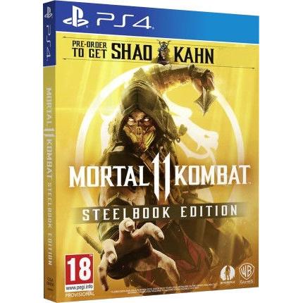 Игра Mortal Kombat 11. Steelbook Edition для PlayStation 4
