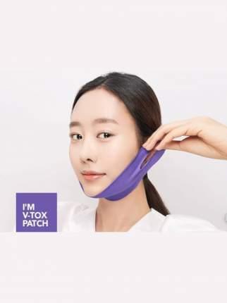 Лифтинг маска-патч KARATICA I'm V-tox Patch для поддержания овала лица, 1 шт