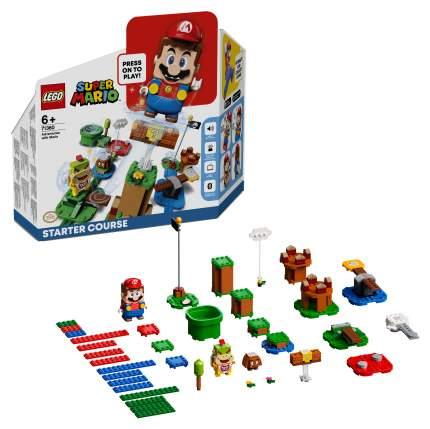 Конструктор LEGO Super Mario 71360 Приключения вместе с Марио Стартовый набор