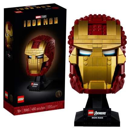 Конструктор LEGO Marvel Avengers Movie 4 76165 Шлем Железного Человека
