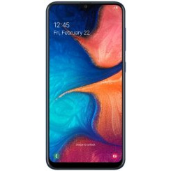 Смартфон Samsung Galaxy A20 (2019) 32Gb Black (SM-A205F)