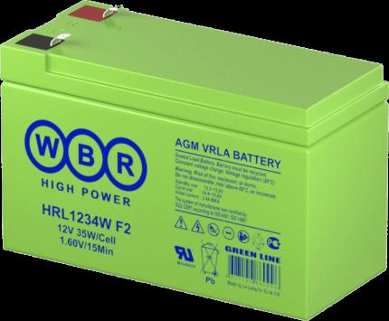 Аккумулятор для ИБП WBR HRL1234W