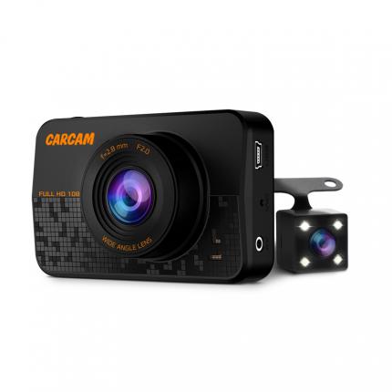 Автомобильный Full HD видеорегистратор CARCAM D1, 35128