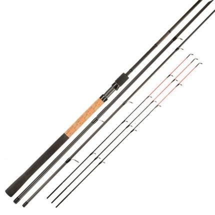 Удилище фидерное ZEMEX IRON Flat-Method Feeder 13 ft, 3,9 м тест до 140 г/8806066100461