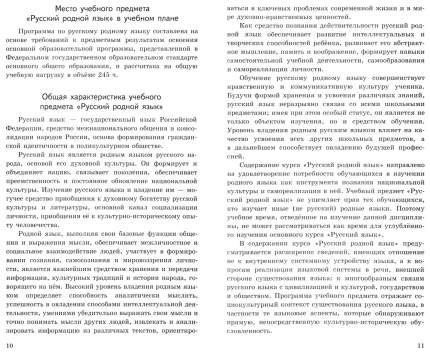 Русский родной язык. 5-9 классы. Примерные рабочие программы