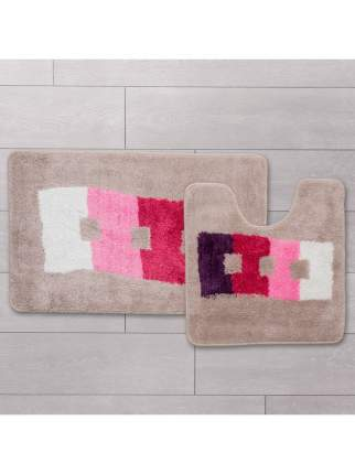 Набор ковриков для ванной комнаты Milardo 480PA58M13