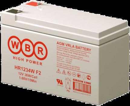 Аккумулятор для ИБП WBR HR1234WF2WBR