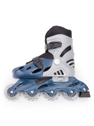 Роликовые коньки SXRIDE раздвижные YXSKT01 синие, р.M (35-38)