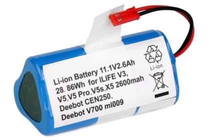 Аккумулятор для робота-пылесоса Chuwi iLife V3, V5, V5 PRO, V5S, CW310, X5 11.1 2.6Ah