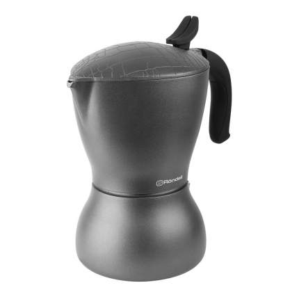 Гейзерная кофеварка Rondell Escurion Grey RDS-1117