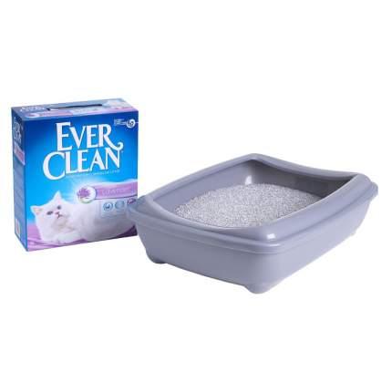 Комкующийся наполнитель для кошек Ever Clean Lavender бентонитовый, лаванда, 6.2 кг, 6 л