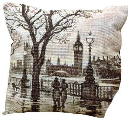 Набор для вышивания крестом PANNA Лондонский дождь PD-1606 42x42 см