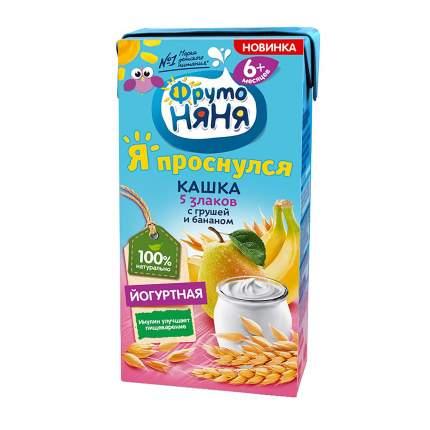 Каша молочная ФрутоНяня Йогуртная с грушей и бананом с 6 мес. 200 г
