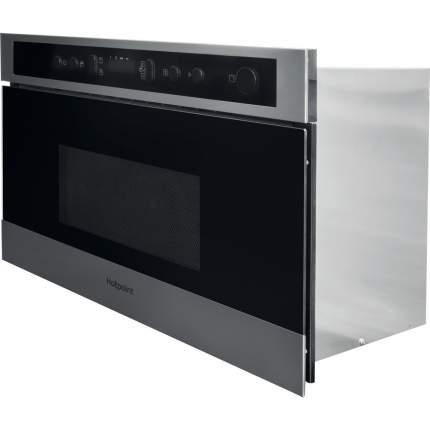 Встраиваемая микроволновая печь Hotpoint-Ariston MN 513 IX HA Серебристый/Черный
