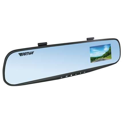 Салонное зеркало заднего вида с регистратором Artway GPS AV-610