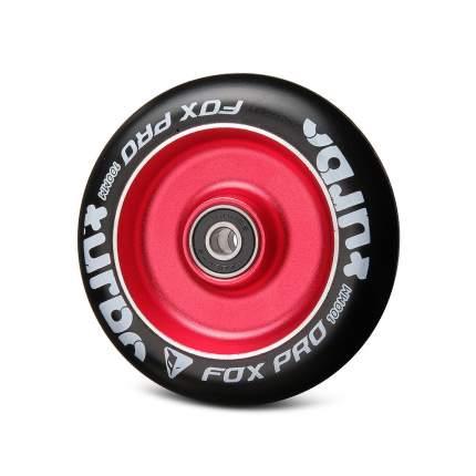 Колесо Flat Solid 100 мм красный/черный