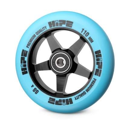Колесо HIPE 09 110mm черное/синее
